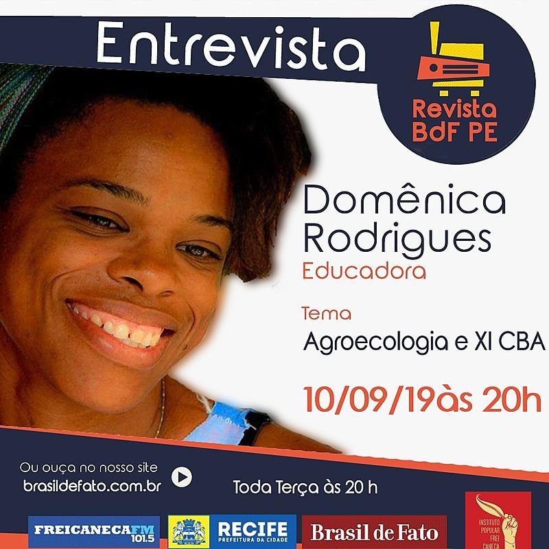 O Congresso Brasileiro de Agroecologia (CBA) será realizado em Novembro deste ano em Aracaju (SE).