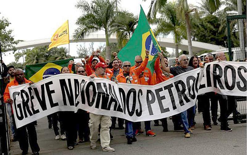Sindicatos de todo o país protestam contra a demissão de mais de mil trabalhadores. Greve começa no sábado (1)