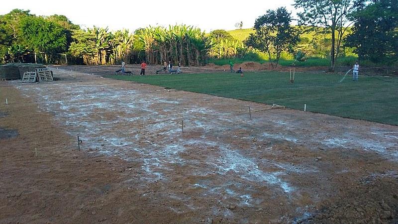 Obras do campo na Escola Nacional Florestan Fernandes estão em sua última etapa