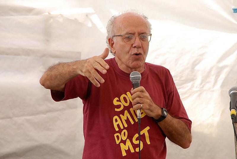 Vito Giannotti, fundador do Núcleo Piratininga de Comunicação