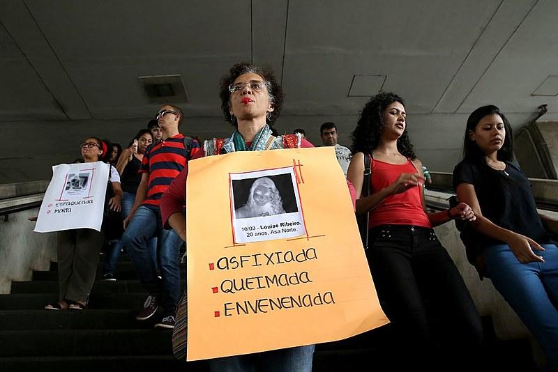 No último ano, 536 mulheres foram vítimas de agressão física a cada hora, segundo estudo do Fórum Brasileiro de Segurança