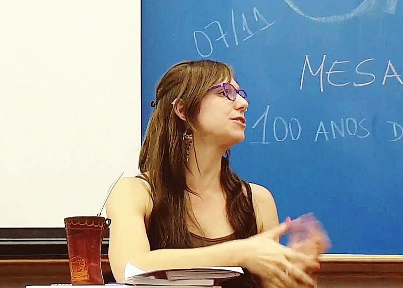 Cecília Vuyk, cientista política do Paraguai