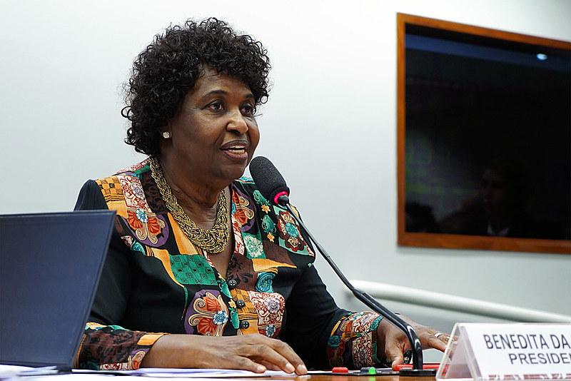 Benedita da Silva, deputada federal pelo PT/RJ