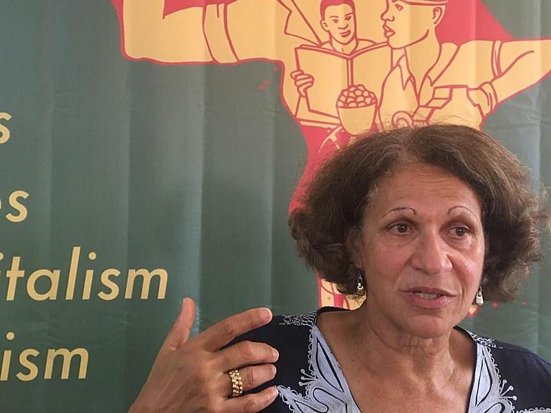 Mireille é filha de Frantz Fanon, importante intelectual, psiquiatra e militante negro