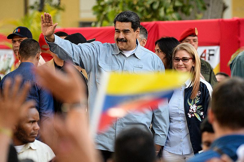 Maduro chegou ao seu segundo mandato enfrentando a pressão internacional lidera pelos EUA que, para o mandatário, busca promover um golpe