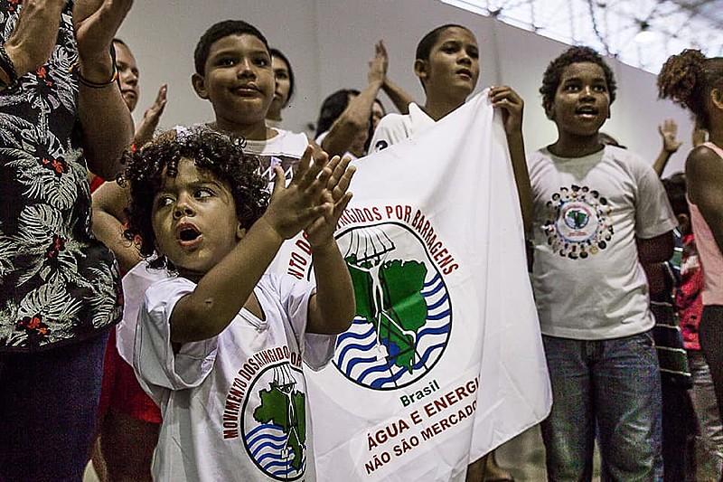 Encerramento do encontro das mulheres e crianças atingidas por barragens em Mariana (MG)