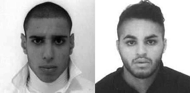 Alípio dos Santos e Ricardo do Nascimento, suspeitos de espancar o ambulante Luiz Carlos Ruas até a morte