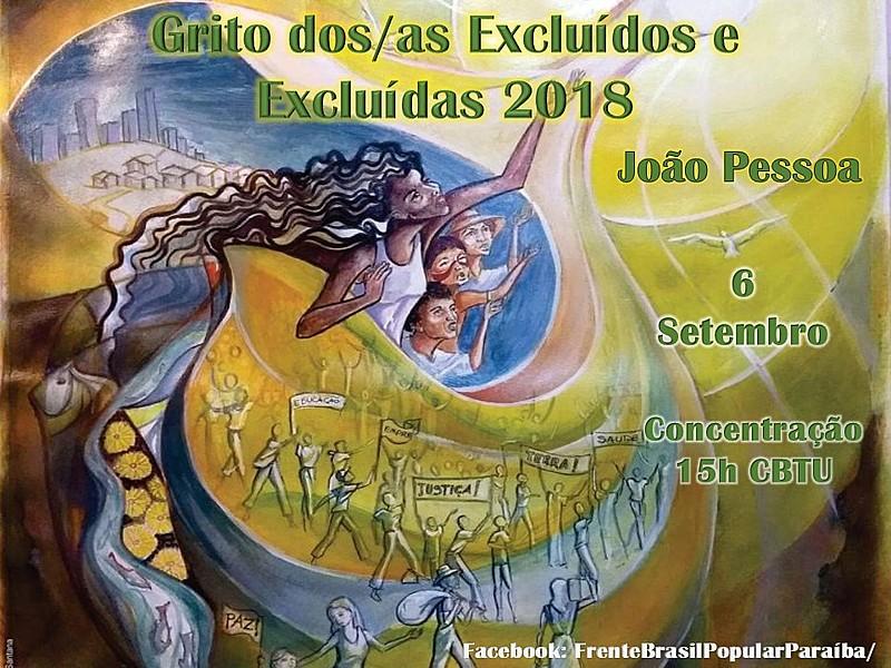 Ativistas de pastorais sociais e movimentos populares são os organizadores do Grito 2018.