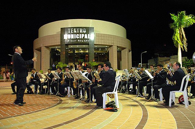 Banda de Música Artur Paraguai se apresenta na sexta, em Mossoró