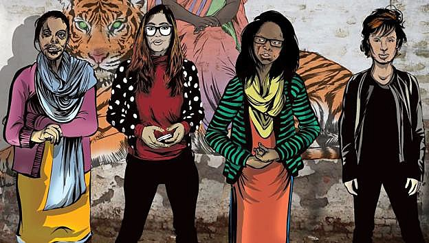 As personagens da trama são inspiradas em mulheres reais que sobrevivera a ataques com a susbstância