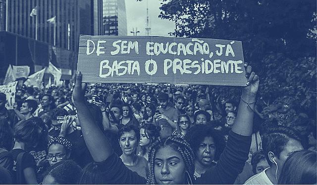Oposición a la política educacional del gobierno Bolsonaro ganó cuerpo en las calles del país, en múltiples protestas