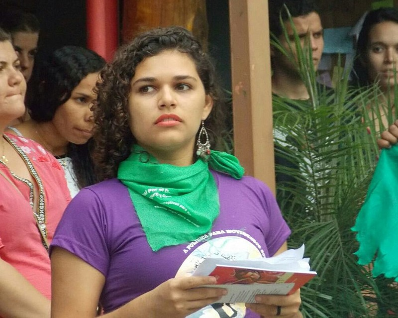 Elisa Maria é militante da Marcha Mundial de Mulheres em Pernambuco.