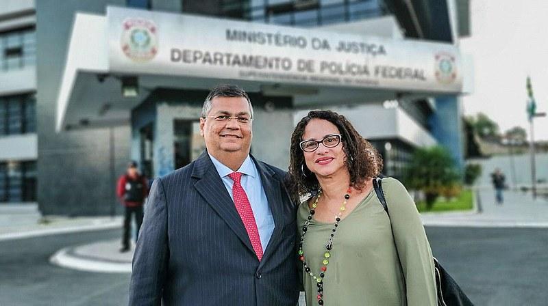 Flávio Dino (PCdoB), governador do Maranhão, e Luciana Santos, vice-governadora de Pernambuco relatam encontro com Lula na prisão