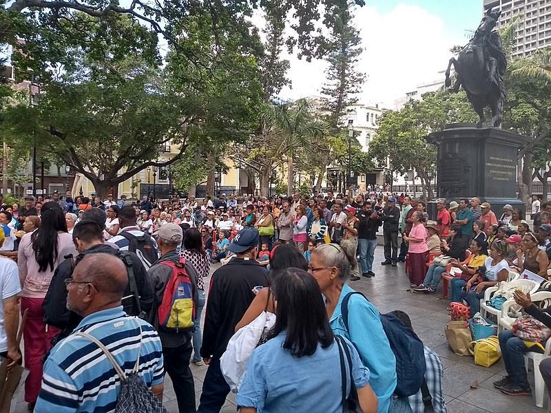 Assembleias populares chavistas movimentam centro de Caracas