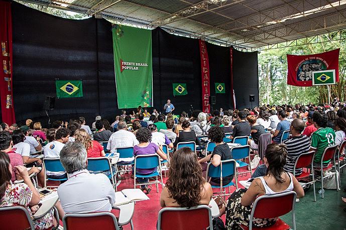 2ª Conferência Nacional da Frente Brasil Popular, na Escola Nacional Florestan Fernandes (ENFF), em Guararema, nos dias 9 e 10 de dezembro