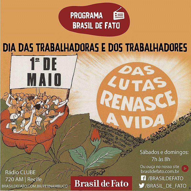 O programa destaca também os dois anos de vida do Brasil de Fato Pernambuco