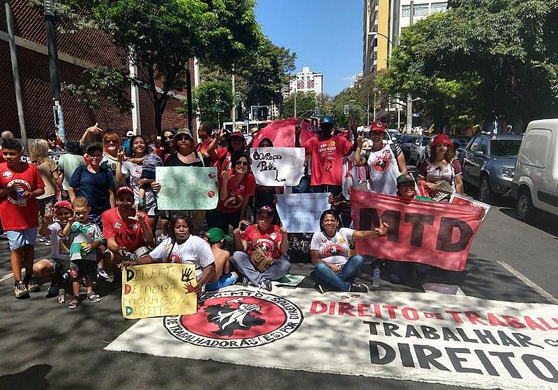 MTD foi às ruas e marchou junto às milhares de pessoas de todo o Brasil nesta 24ª edição do Grito dos Excluídos