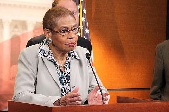 A deputada Eleonor Holmes é uma das parlamentares que assinam a carta enviada ao Departamento de Estado