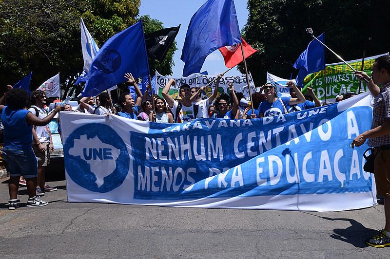 """""""A juventude se faz presente e se coloca como linha de frente da luta contra a fascistização da política"""""""