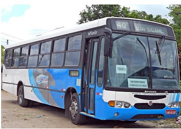 Transporte escolar universitário de Santa Rita - PB