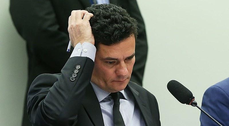 """Ministro da Justiça e ex-juiz federal, Sérgio Moro é autor do PL 882/2019, conhecido como pacote """"anticrime"""""""