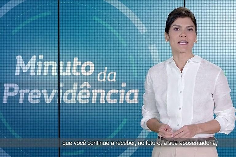 """Peça que dizia """"ou reforma a Previdência, ou ela quebra"""" é uma das propagandas suspensas pela Justiça do RS"""