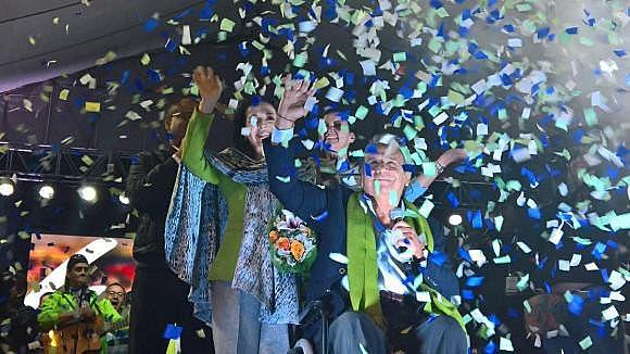 Candidato venceu as eleições após segundo turno apertado contra Guillermo