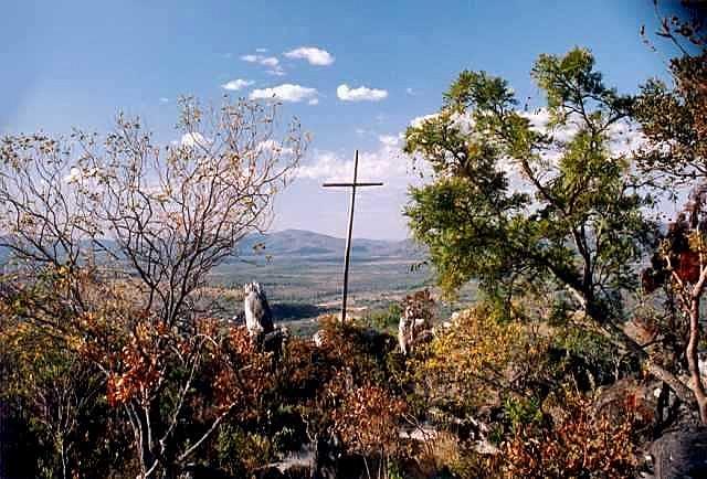 Morro da Cruz, um dos pontos turísticos do Parque