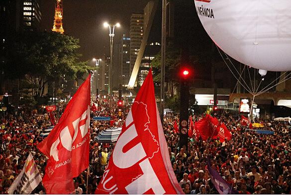 Manifestação pelas Diretas Já, em São Paulo