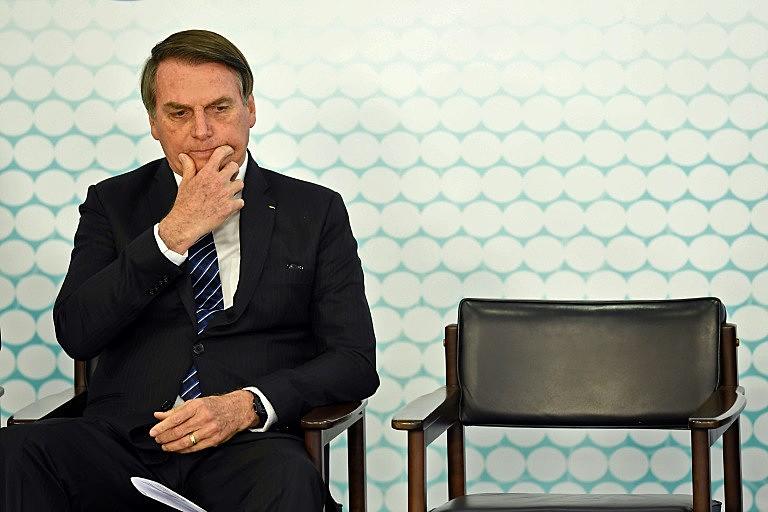 O presidente brasileiro, Jair Bolsonaro