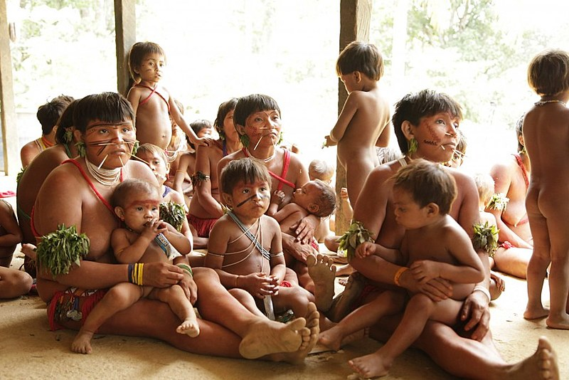 Yanomami chegam a ter 92% das pessoas contaminadas por mercúrio