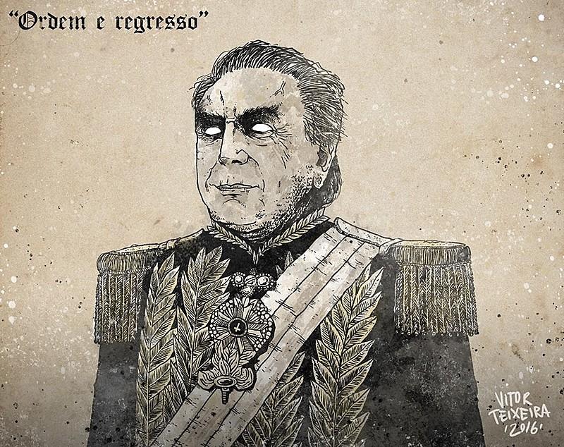 """Os discursos de Temer têm uma tônica central: a construção de uma resposta """"naturalizada"""" para o Brasil sair da crise em que efetivamente está metido"""