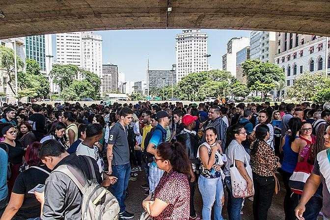 São Paulo concentra 21,9% de toda a população brasileira.