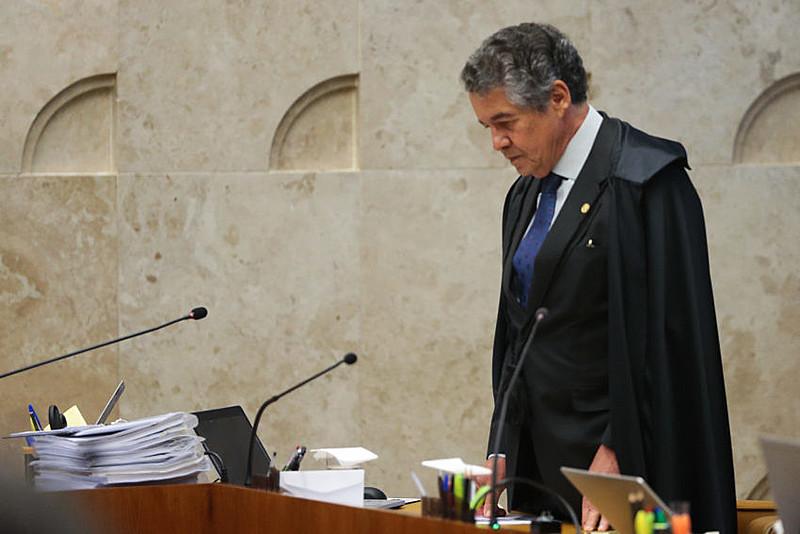 Marco Aurélio Mello acatou pedido liminar para afastar Renan Calheiros, que resistiu à decisão