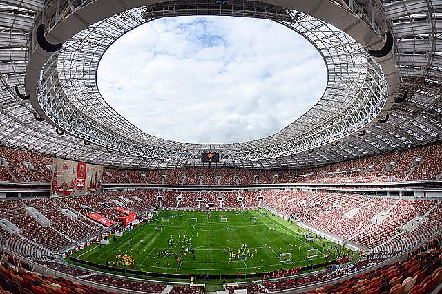 Rússia, segundo apesquisa, tem 65% de probabilidade de passar da fase de grupos da Copa