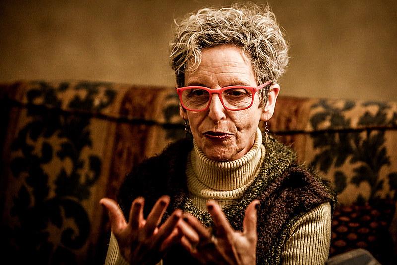 """Raquel Rolnik esteve em Curitiba para o lançamento de seu livro """"Guerra dos Lugares"""" e participou do Circo da Democracia"""