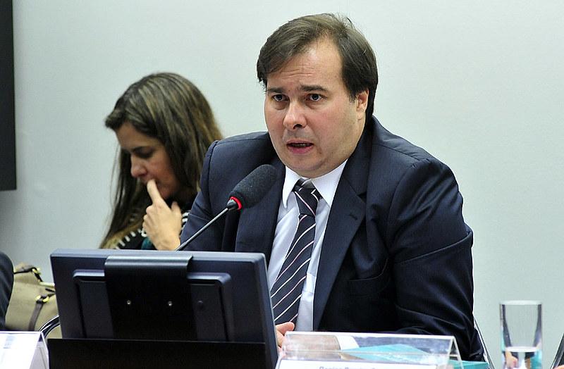 Rodrigo Maia defendeu o direito democrático ao sigilo da fonte para fins jornalísticos