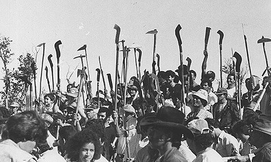 Reunião das Ligas Camponesas no Nordeste