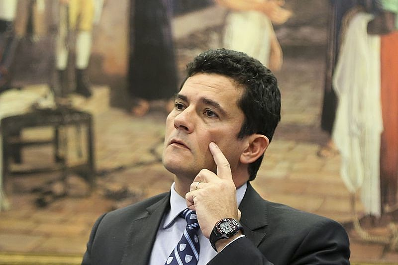 """No Senado, Moro chamou de""""açodamento""""a tentativa de incluir penas para juízes e promotores no pacote anticorrupção"""