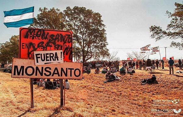 Protesto nas Malvinas Argentinas