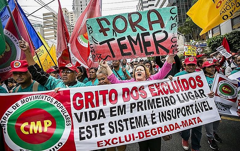 Ato acontece em todo o país, desde setembro de 1995. Na foto, a marcha do último ano, em São Paulo (SP)