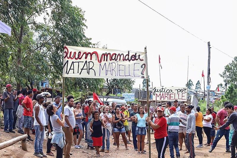 Homenagens à vereadora carioca Marielle Franco (PSOL) começaram pela manhã