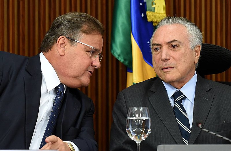 Geddel Vieira Lima é ex-ministro do golpista Michel Temer