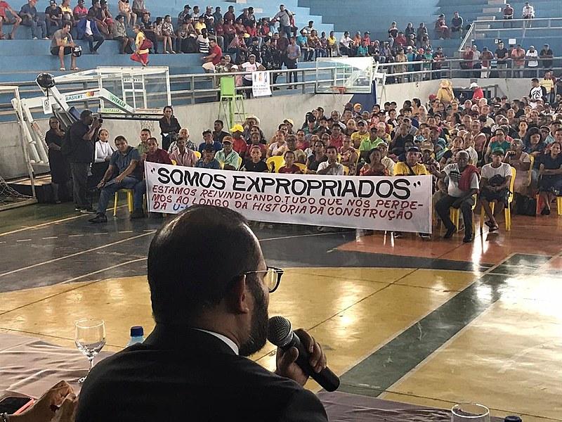 Mais de mil pessoas estiveram no evento lutando por seus direitos. A Semas do Pará faltou ao diálogo com as comunidades