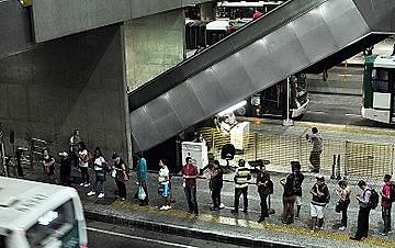 Aumento do tempo de espera com a necessidade de novas baldeações é o principal receio dos passageiros