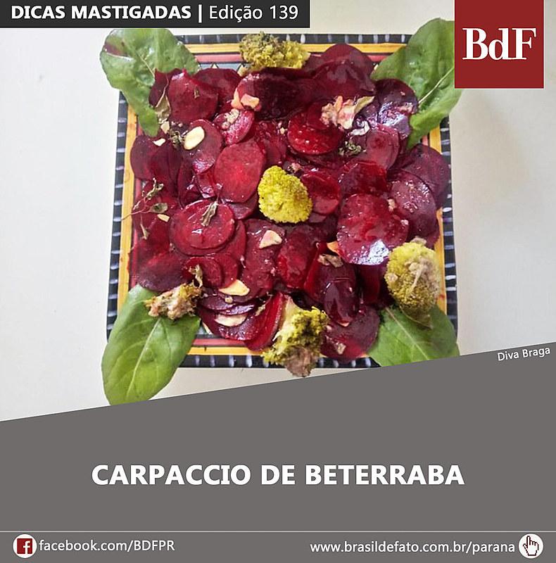 Toda semana, a edição impressa do Brasil de Fato Paraná traz receitas acessíveis