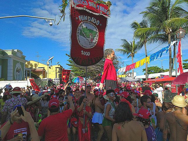 El bloque del Movimiento de Trabajadores Rurales sin Tierra (MST) cumple dieciocho años en 2018