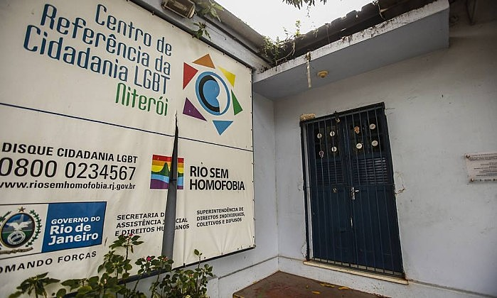 Centro de Cidadania LGBT, em Niteroi, ficou fechado por dois meses esse ano