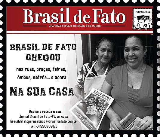 O Brasil de Fato busca apresentar uma visão popular do que acontece na sua cidade, em Pernambuco, no Brasil e no mundo.