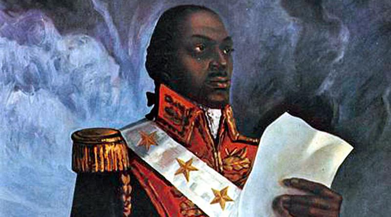 Toussaint L'Ouverture, líder de la revolución haitiana